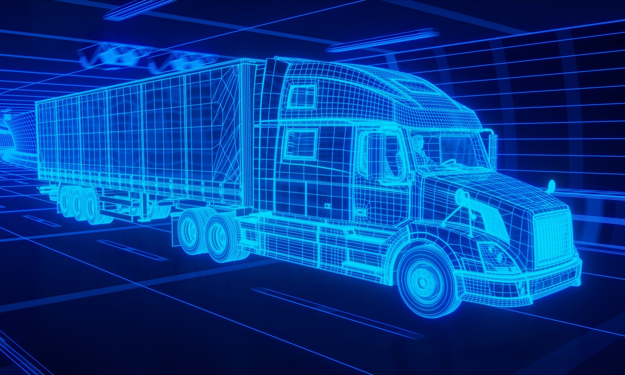 how semi truck tech has changed